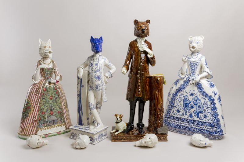 Animal, Historic and Mythical Figures' Traits Merged in Ceramic Art ceramic art Animal, Historic and Mythical Figures' Traits Merged in Ceramic Art Animal Historic and Mythical Figures Traits Merged in Ceramic 5