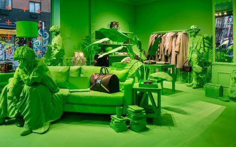 virgil abloh A Splash of Neon Green: Virgil Abloh and Louis Vuitton's Pop-Up Store A Splash of Neon Green feature 480x300