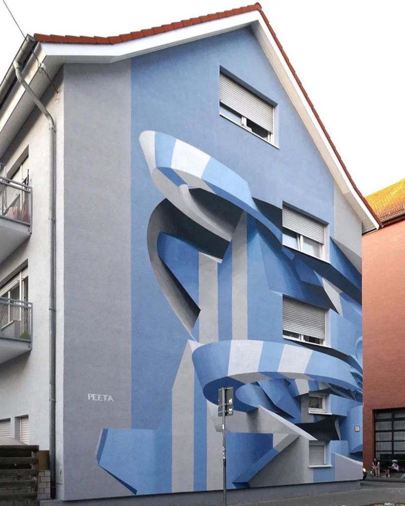 Italian Artist Paints Buildings That Give an Optical Illusion Effect italian artist Italian Artist Paints Buildings That Give an Optical Illusion Effect Artist Paints Buildings That Give an Optical Illusion Effect 2