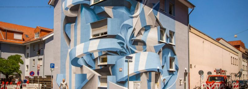 Italian Artist Paints Buildings That Give an Optical Illusion Effect italian artist Italian Artist Paints Buildings That Give an Optical Illusion Effect Artist Paints Buildings That Give an Optical Illusion Effect