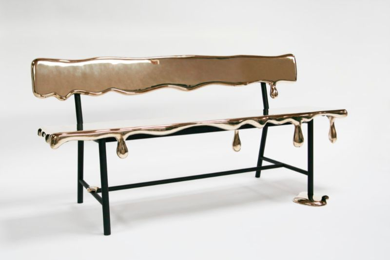 Reinier Bosch's Dripping Art Furniture art furniture Reinier Bosch's Dripping Art Furniture Reinier Bosch   s Dripping Furniture 3