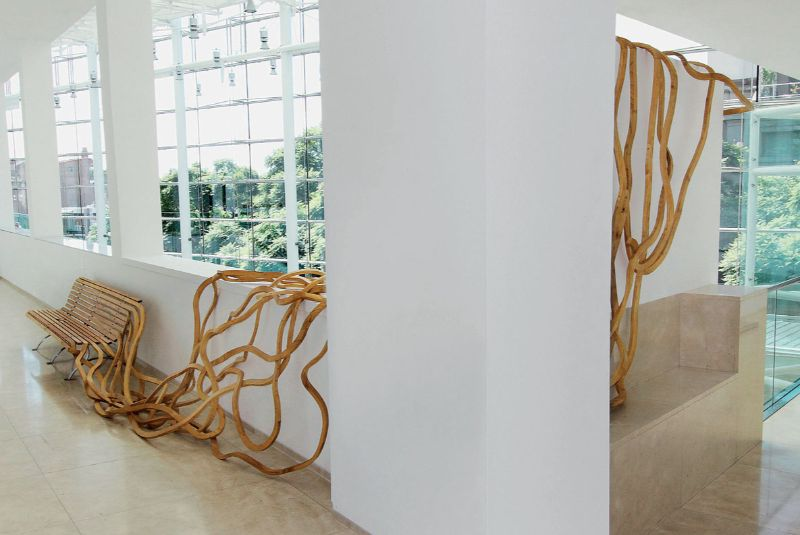 Reinoso's Spaghetti Bench: Modern Art That Explores The Use of Wood modern art Reinoso's Spaghetti Bench: Modern Art That Explores The Use of Wood Reinoso   s Spaghetti Bench Art That Explores The Use of Wood 10