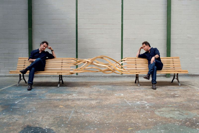 Reinoso's Spaghetti Bench: Modern Art That Explores The Use of Wood modern art Reinoso's Spaghetti Bench: Modern Art That Explores The Use of Wood Reinoso   s Spaghetti Bench Art That Explores The Use of Wood