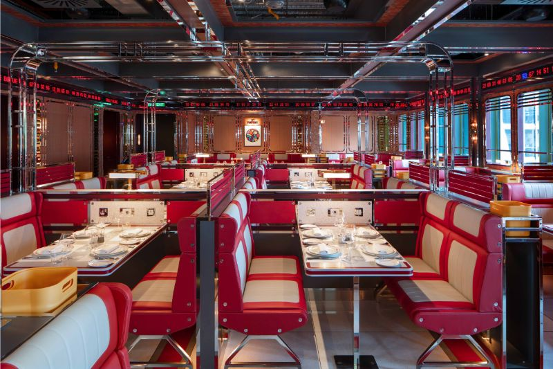 Ultra-Camp Meets Ultra-Luxury in A London Restaurant Design restaurant design Ultra-Camp Meets Ultra-Luxury in A London Restaurant Design Ultra Camp Meets Ultra Luxury in A London Restaurant 4