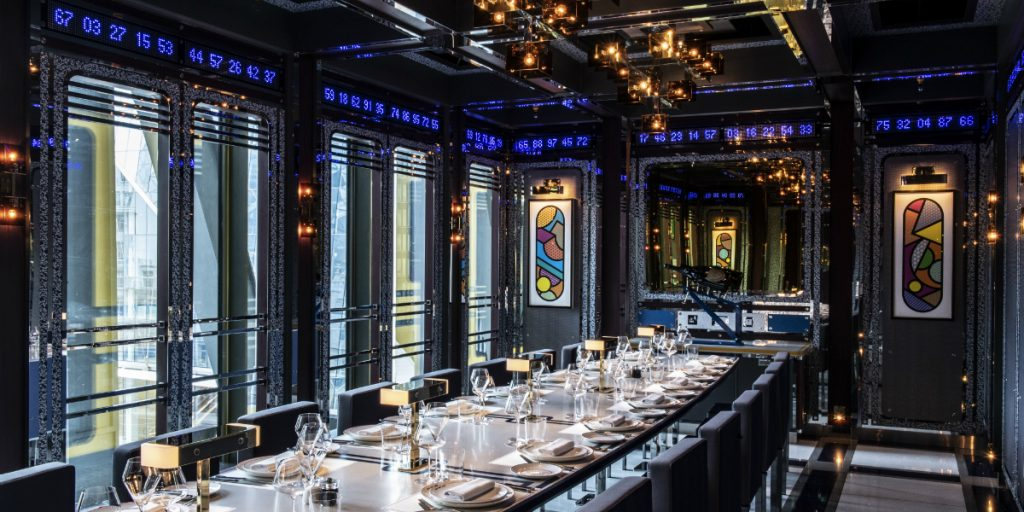Ultra-Camp Meets Ultra-Luxury in A London Restaurant Design restaurant design Ultra-Camp Meets Ultra-Luxury in A London Restaurant Design Ultra Camp Meets Ultra Luxury in A London Restaurant feature 1 1024x512