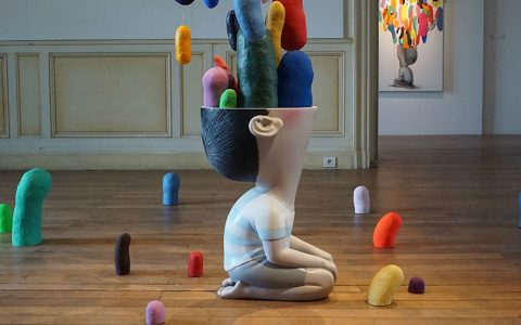 art exhibition Seth Globepainter's Art Exhibition Fills a Historic Castle in France Seth Globepainter   s Exhibition Fills a Historic Castle in France feature 480x300