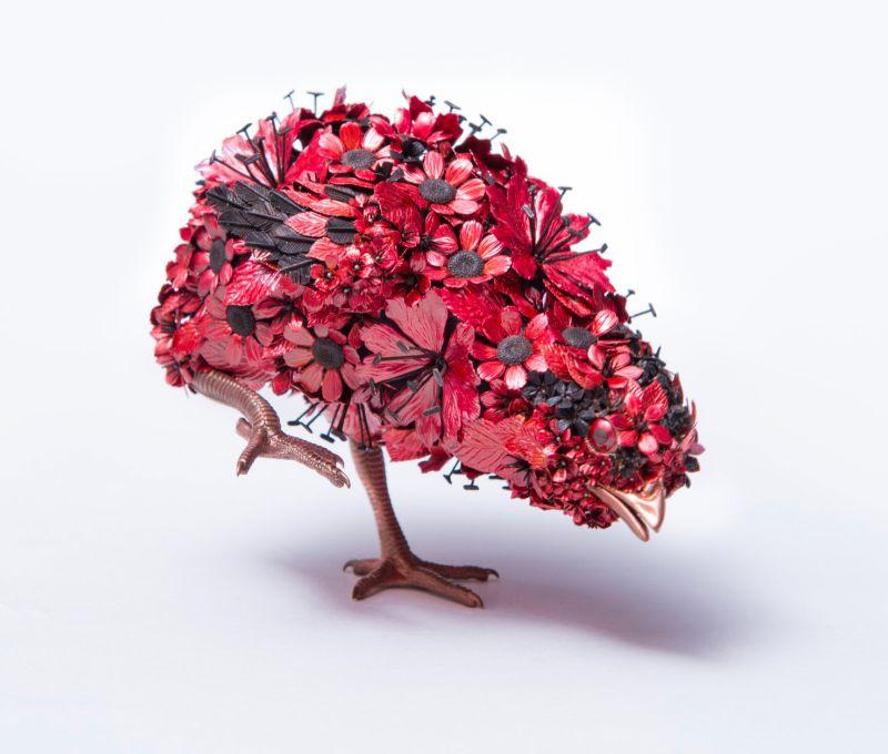 Taiichiro Yoshida's Flowery Metal Sculptures metal sculptures Taiichiro Yoshida's Flowery Metal Sculptures Taiichiro Yoshida   s Flowery Sculptures 3
