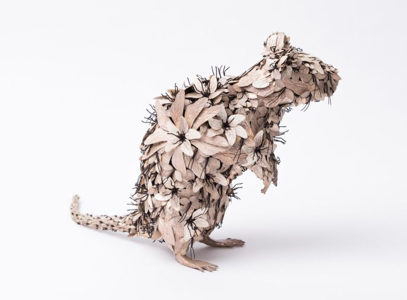 Taiichiro Yoshida's Flowery Metal Sculptures metal sculptures Taiichiro Yoshida's Flowery Metal Sculptures Taiichiro Yoshida   s Flowery Sculptures