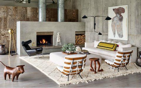 modern home A Statement Modern Home with A World-Class Art Collection feature art home 480x300